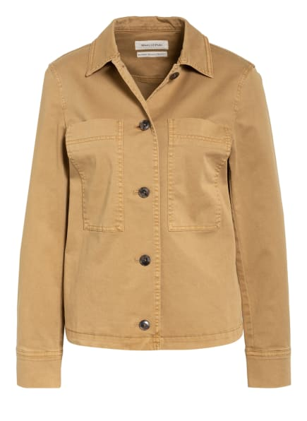Marc O'Polo Jeans-Overshirt, Farbe: COGNAC (Bild 1)