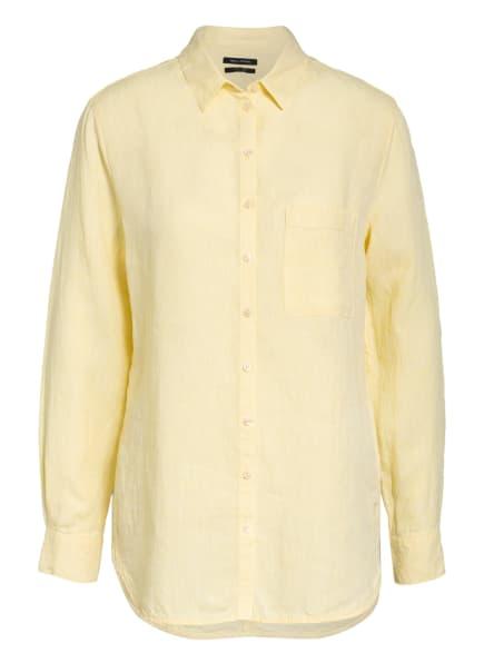 Marc O'Polo Hemdbluse aus Leinen, Farbe: GELB (Bild 1)