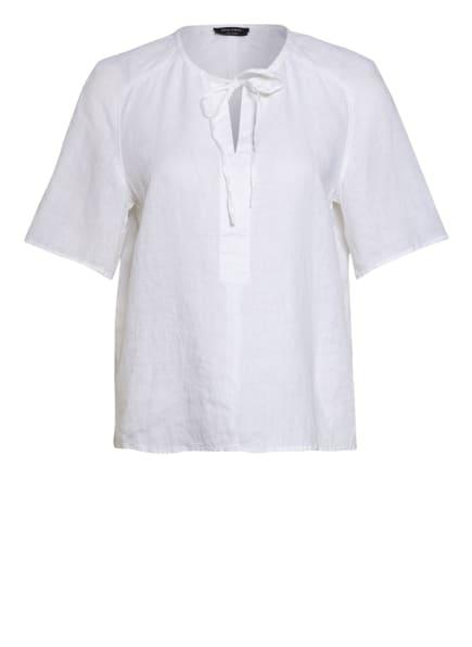 Marc O'Polo Blusenshirt aus Leinen, Farbe: WEISS (Bild 1)