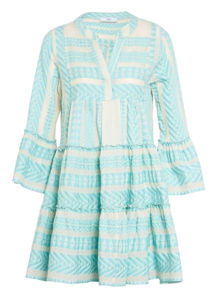 Devotion Kleid ELLA, Farbe: CREME/ HELLBLAU (Bild 1)