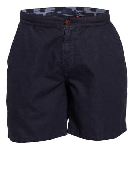 Superdry Shorts mit Leinen, Farbe: DUNKELBLAU (Bild 1)