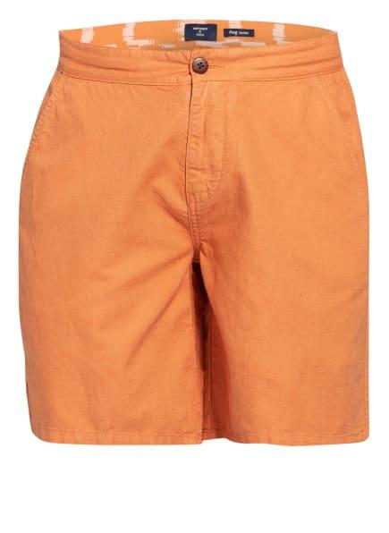 Superdry Shorts mit Leinen, Farbe: ORANGE (Bild 1)