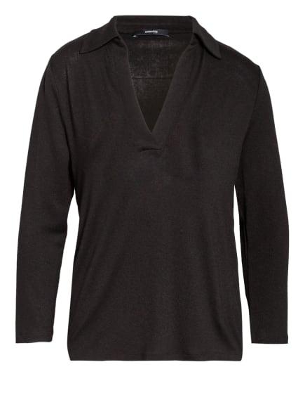 someday Pullover KUKI mit 3/4-Arm, Farbe: SCHWARZ (Bild 1)