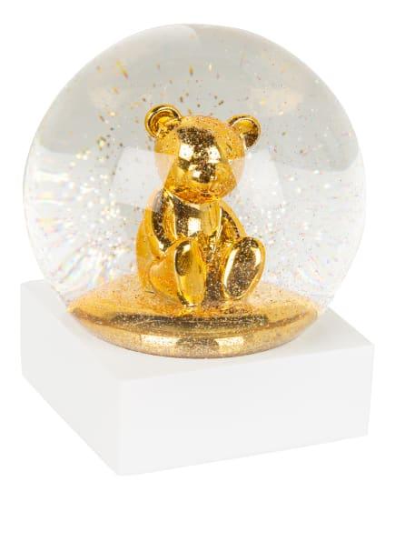 EB HOME Schneekugel, Farbe: WEISS/ GOLD (Bild 1)