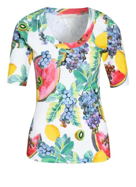 lilienfels T-Shirt, Farbe: GRÜN/ ECRU/ PINK (Bild 1)