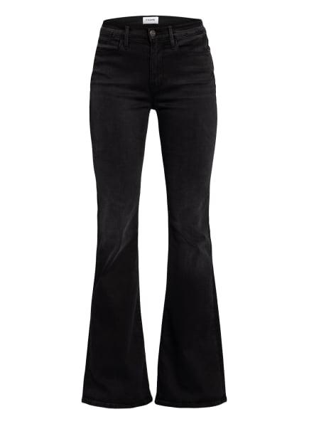 FRAME DENIM Bootcut Jeans LE HIGH FLARE, Farbe: SCHWARZ (Bild 1)