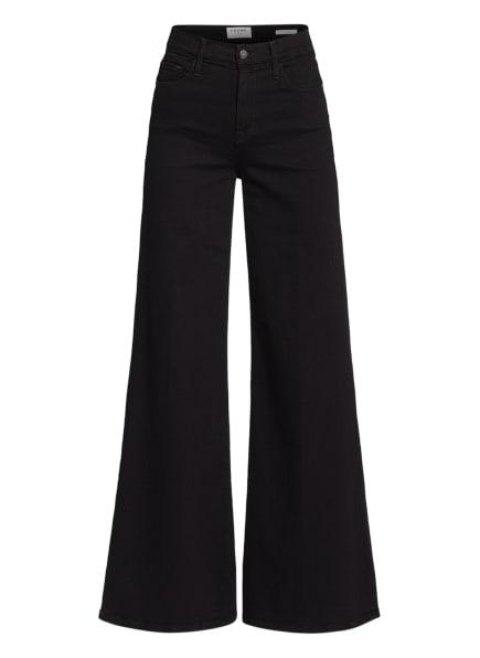 FRAME DENIM Jeans-Marlenehose LE PALAZZO , Farbe: FLMN FILM NOIR (Bild 1)
