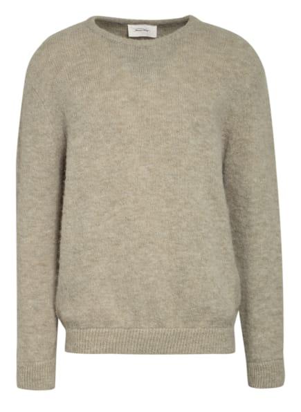 American Vintage Pullover mit Alpaka, Farbe: HELLGRÜN (Bild 1)