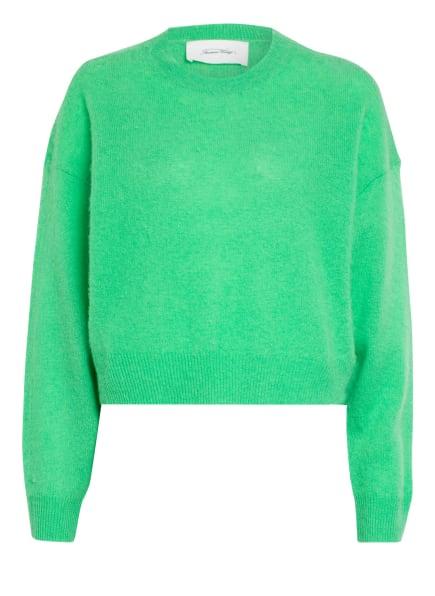 American Vintage Cashmere-Pullover, Farbe: HELLGRÜN (Bild 1)