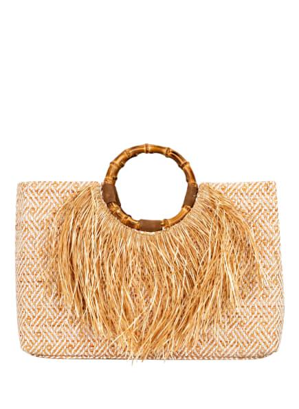 ViaMailBag Handtasche PLAYA , Farbe: WEISS/ HELLBRAUN (Bild 1)