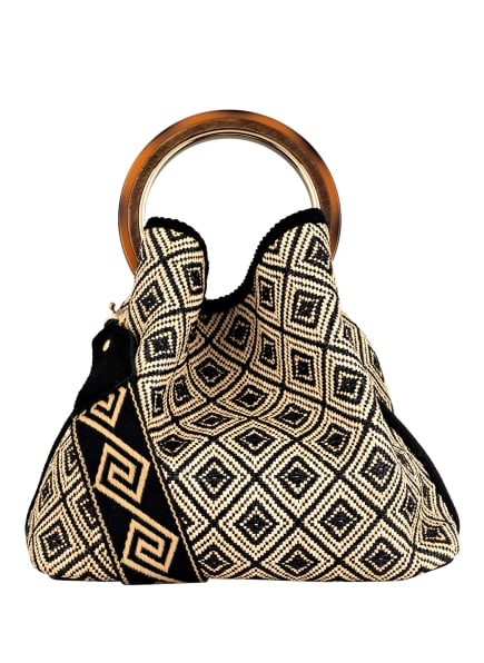 ViaMailBag Handtasche CORAL, Farbe: SCHWARZ/ BEIGE (Bild 1)