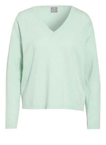 FTC CASHMERE Cashmere-Pullover, Farbe: MINT (Bild 1)