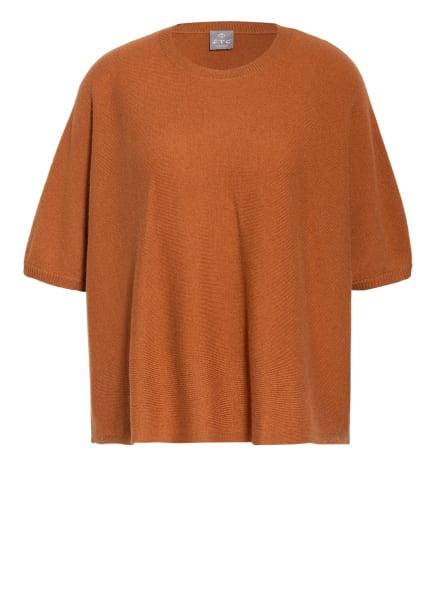 FTC CASHMERE Strickshirt aus Cashmere, Farbe: DUNKELORANGE (Bild 1)