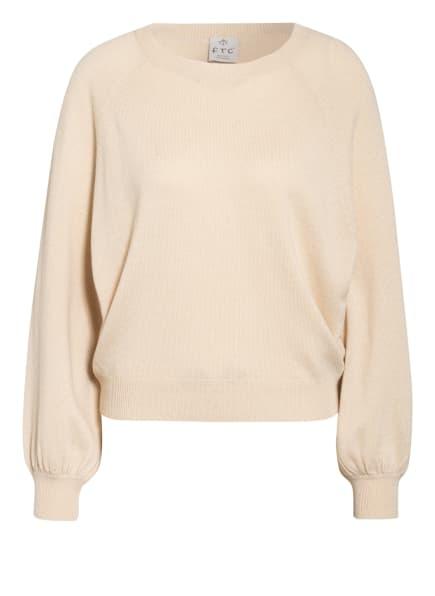 FTC CASHMERE Pullover mit Cashmere, Farbe: BEIGE (Bild 1)