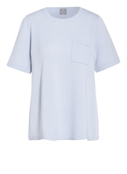 FTC CASHMERE Strickshirt aus Cashmere, Farbe: HELLBLAU (Bild 1)