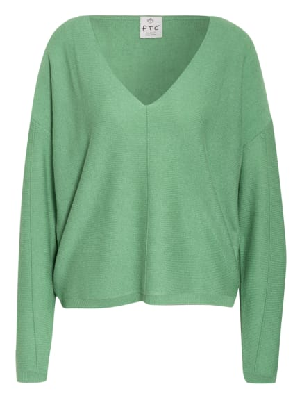 FTC CASHMERE Pullover mit Cashmere, Farbe: GRÜN (Bild 1)