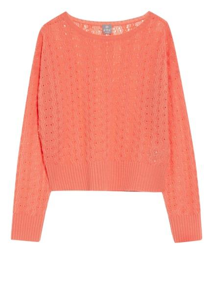 FTC CASHMERE Cashmere-Pullover, Farbe: HELLORANGE (Bild 1)