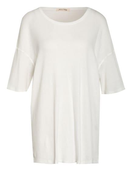 American Vintage Oversized-Shirt GABYSHOO, Farbe: WEISS (Bild 1)