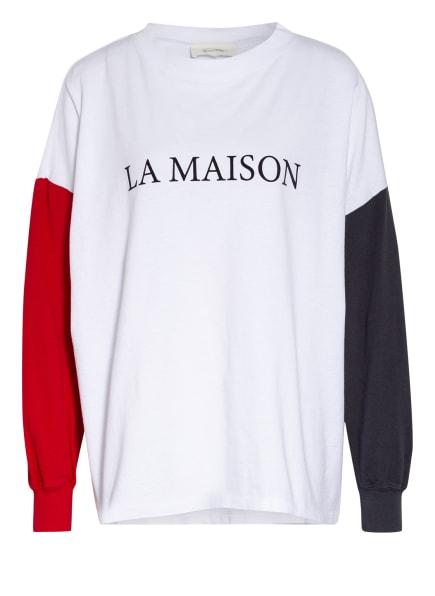 American Vintage Sweatshirt, Farbe: WEISS/ GRAU (Bild 1)