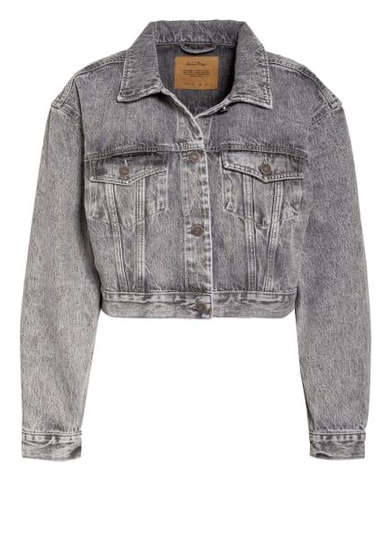 American Vintage Jeansjacke TIZANIE , Farbe: GRAU (Bild 1)