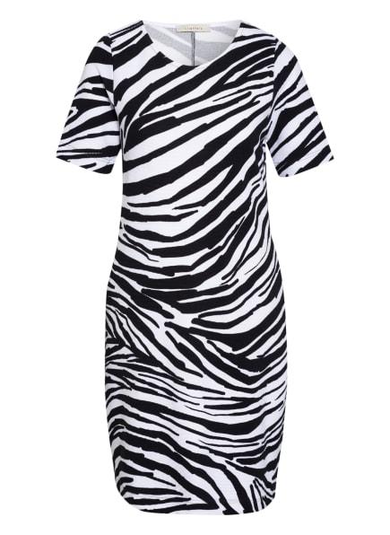 lilienfels Jerseykleid, Farbe: WEISS/ SCHWARZ (Bild 1)