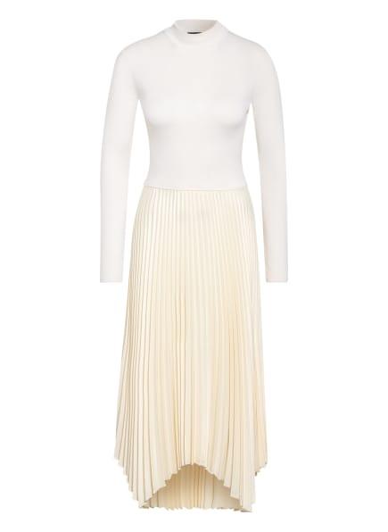 POLO RALPH LAUREN Kleid im Materialmix, Farbe: CREME (Bild 1)