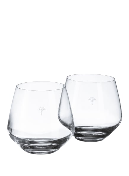 JOOP! 2er-Set Trinkgläser SINGLE CORNFLOWER, Farbe: WEISS (Bild 1)