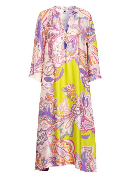 floer Kleid, Farbe: LILA/ HELLGRÜN/ CREME (Bild 1)