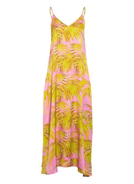 floer Kleid, Farbe: ROSA/ HELLGRÜN (Bild 1)