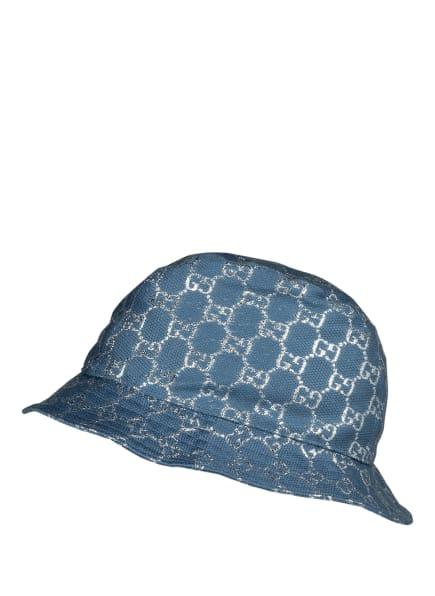 GUCCI Bucket-Hat, Farbe: 4600 TURQUOISE BLUE (Bild 1)