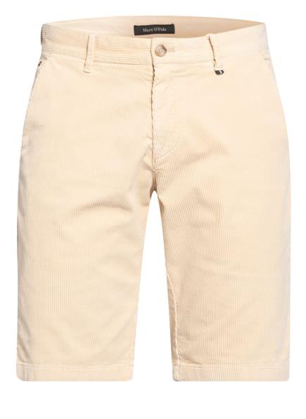 Marc O'Polo Cord-Shorts Regular Fit, Farbe: ECRU (Bild 1)