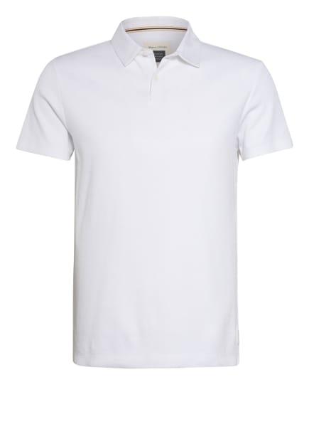 Marc O'Polo Jersey-Poloshirt Regular Fit, Farbe: WEISS (Bild 1)