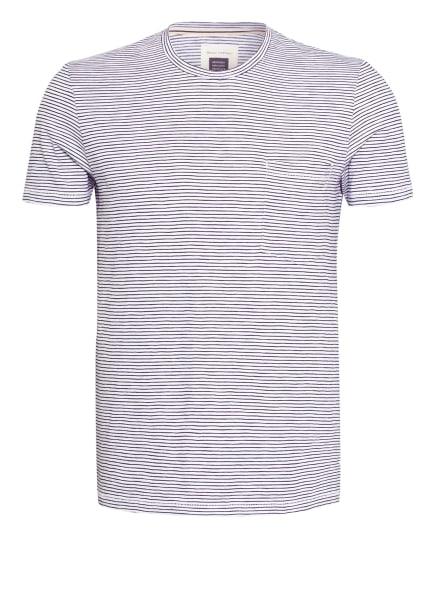 Marc O'Polo T-Shirt, Farbe: WEISS/ DUNKELBLAU (Bild 1)