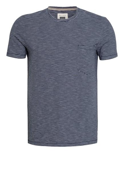 Marc O'Polo T-Shirt, Farbe: DUNKELBLAU/ WEISS (Bild 1)