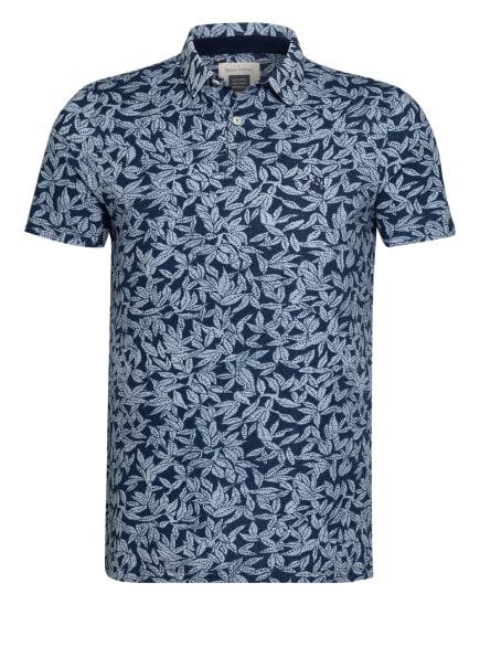 Marc O'Polo Piqué-Poloshirt Shaped Fit, Farbe: DUNKELBLAU/ WEISS (Bild 1)