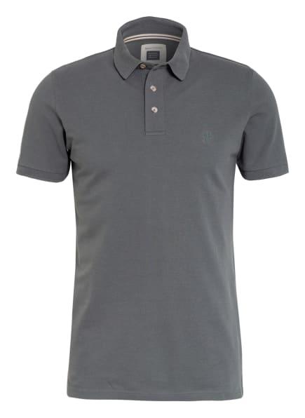 Marc O'Polo Piqué-Poloshirt Shaped Fit, Farbe: GRAU (Bild 1)