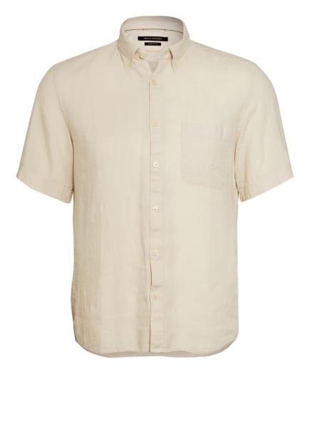 Marc O'Polo Kurzarm-Hemd Regular Fit aus Leinen , Farbe: CREME (Bild 1)