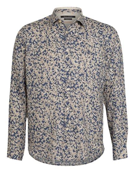 Marc O'Polo Leinenhemd Regular Fit, Farbe: CREME/ BLAU/ COGNAC (Bild 1)