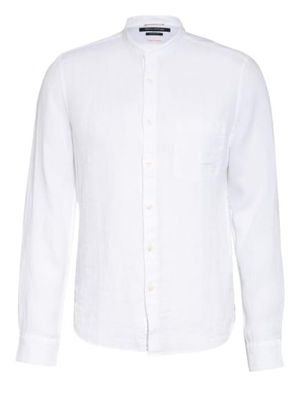 Marc O'Polo Leinenhemd Shaped Fit mit Stehkragen, Farbe: WEISS (Bild 1)
