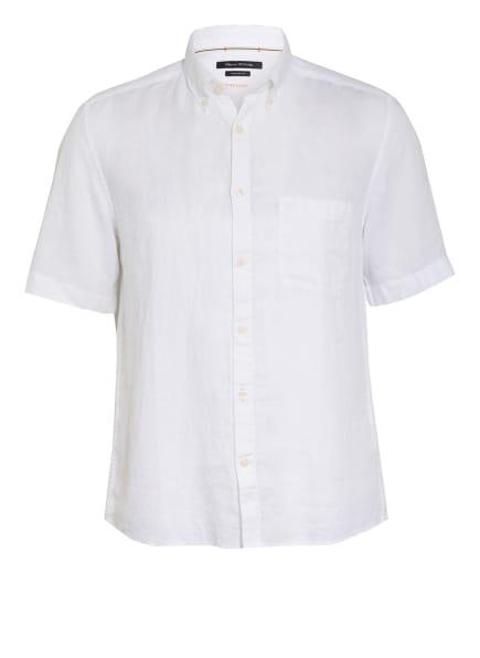 Marc O'Polo Kurzarm-Hemd Regular Fit aus Leinen , Farbe: WEISS (Bild 1)