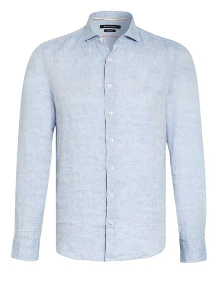 Marc O'Polo Leinenhemd Shaped Fit, Farbe: HELLBLAU (Bild 1)