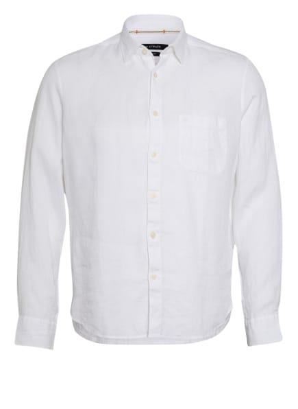 Marc O'Polo Leinenhemd Regular Fit, Farbe: WEISS (Bild 1)
