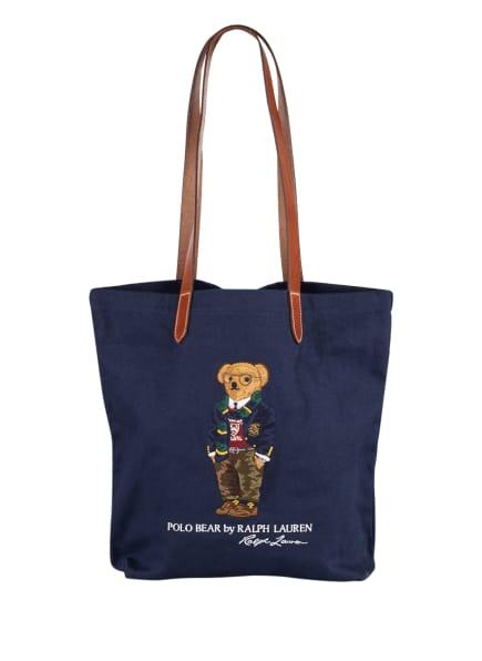 POLO RALPH LAUREN Shopper, Farbe: DUNKELBLAU (Bild 1)