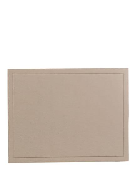 GIOBAGNARA Schreibtischunterlage PHIL, Farbe: HELLBRAUN (Bild 1)