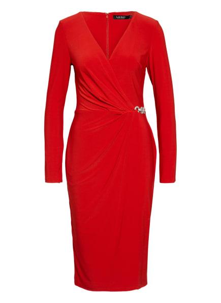 LAUREN RALPH LAUREN Kleid KINA in Wickeloptik, Farbe: ROT (Bild 1)