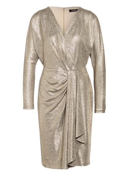 LAUREN RALPH LAUREN Kleid LYNNA, Farbe: GOLD (Bild 1)