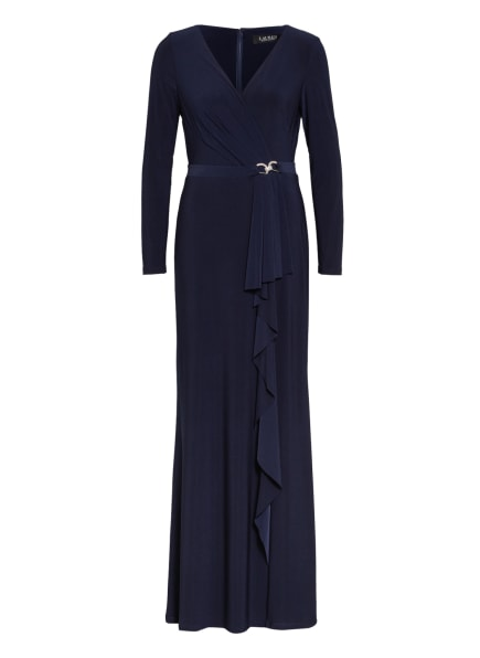 LAUREN RALPH LAUREN Abendkleid LUANA, Farbe: DUNKELBLAU (Bild 1)