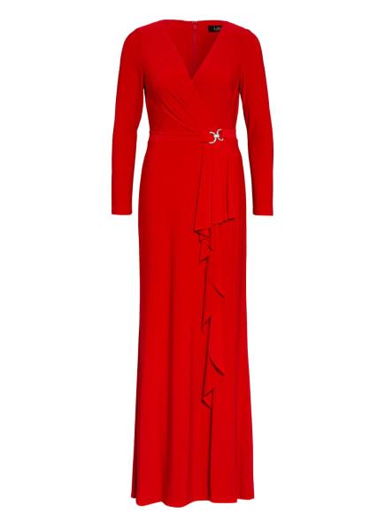 LAUREN RALPH LAUREN Abendkleid LUANA, Farbe: ROT (Bild 1)