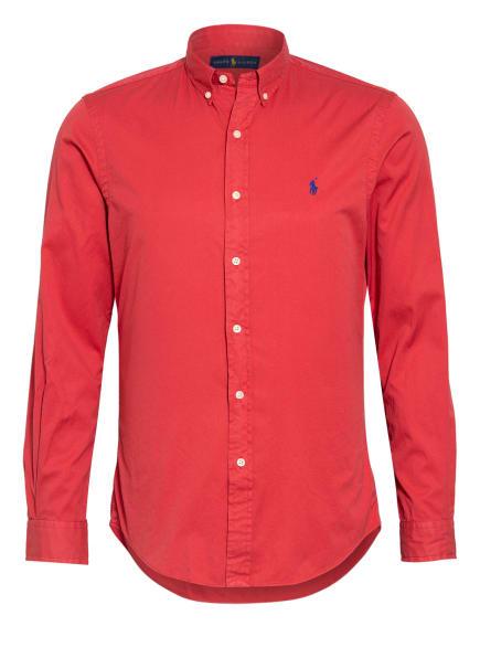 POLO RALPH LAUREN Hemd Slim Fit, Farbe: ROT (Bild 1)