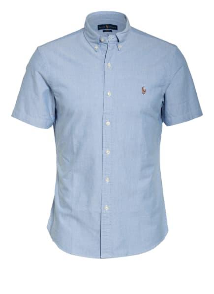 POLO RALPH LAUREN Kurzarm-Hemd Slim Fit, Farbe: HELLBLAU (Bild 1)